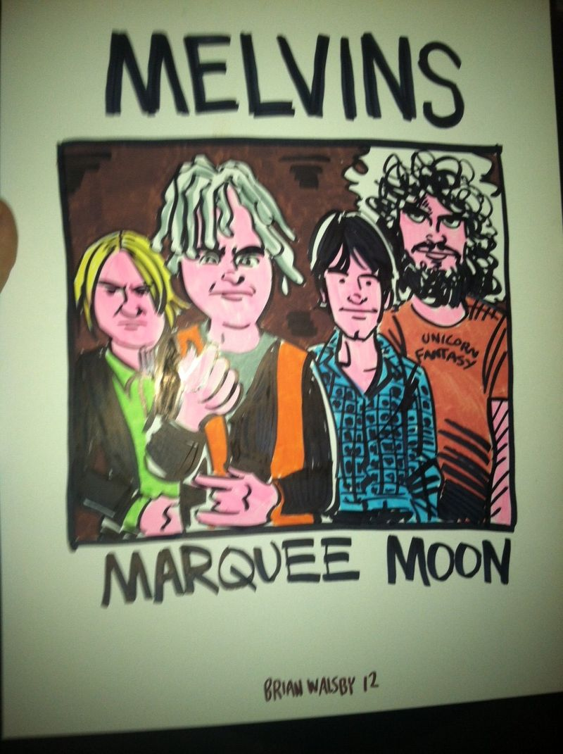 Melvins - marquee moon