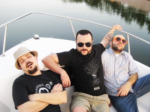 Torche on a boat bitch