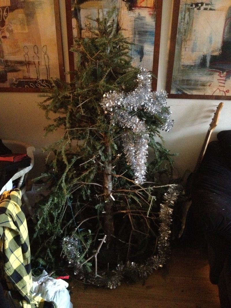 2013-03-24 Christmas Tree-struction