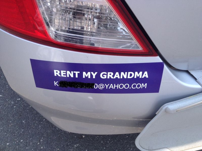 Rent my grandma