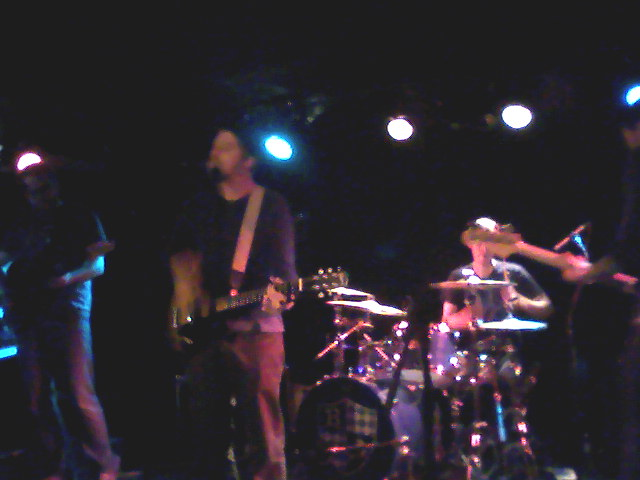 Boat at mercury lounge