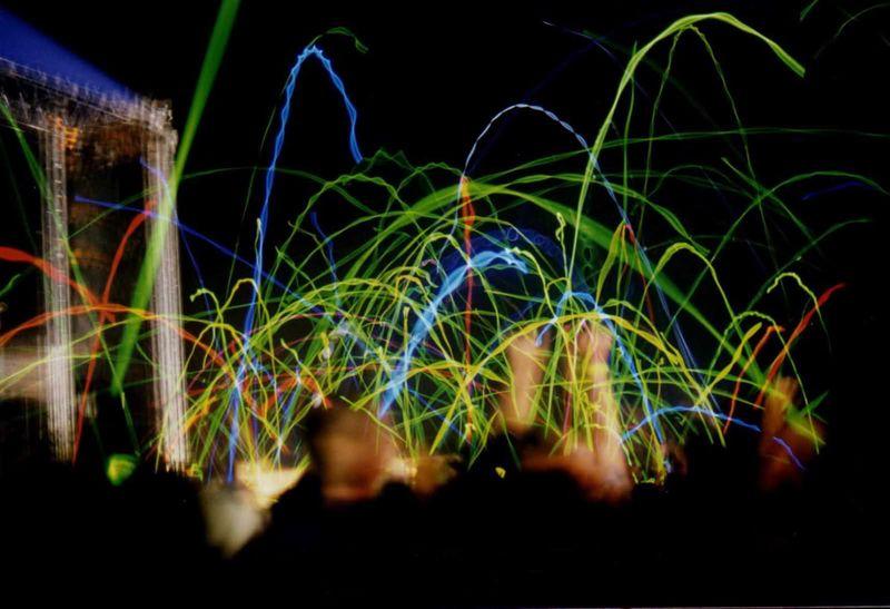 Phish glow stick war