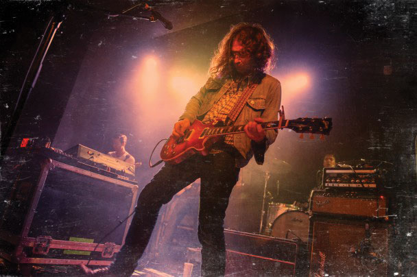 Adam granduciel guitar the war on drugs