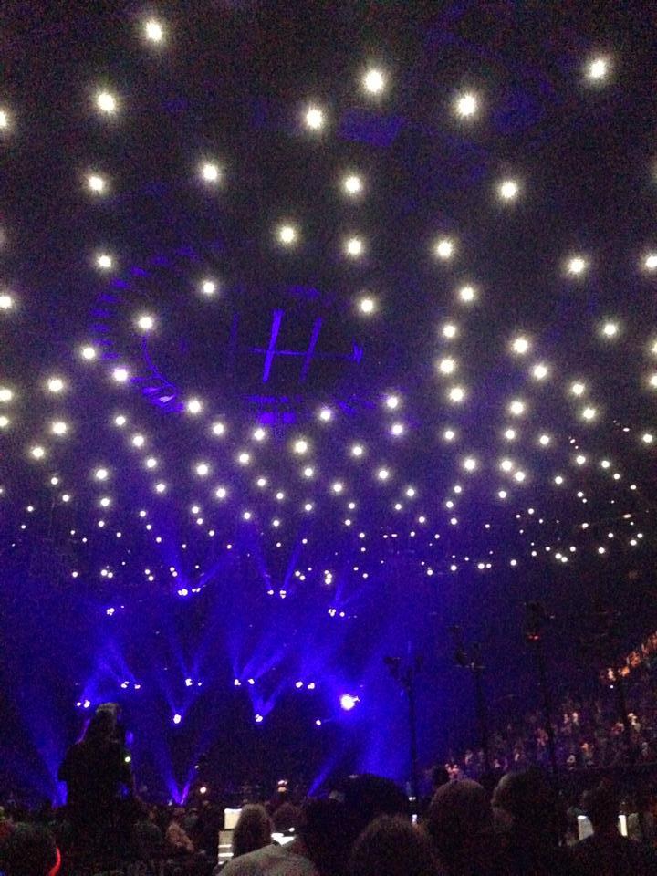 Forum divided sky ceiling